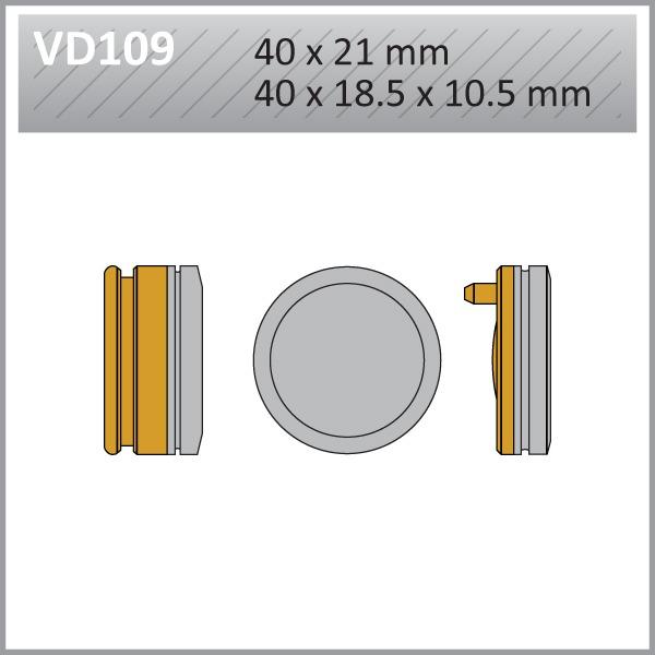 VES PADS-S.MET-VD109  FA40