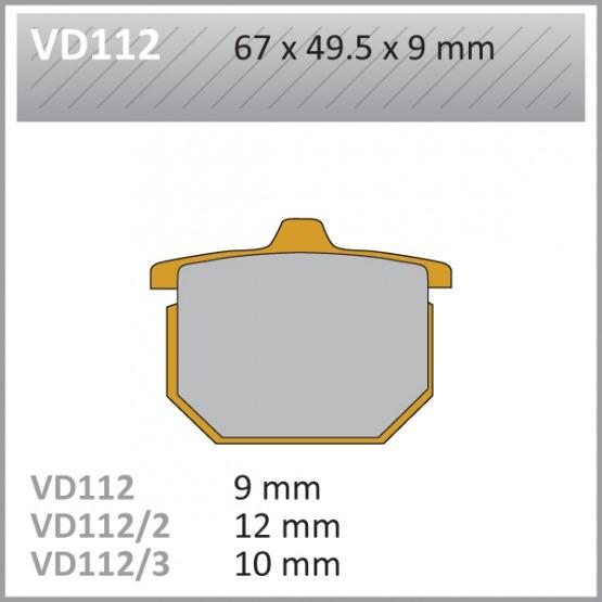 VES PADS S.MET VD112 FA31